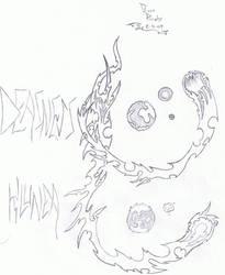 Klunea and Deasness by Redbasse