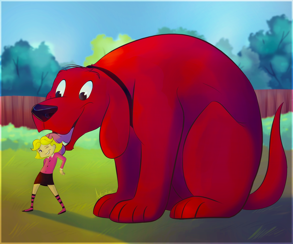 Emily And The Big Red Dog
