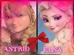 Astrid and Elsa