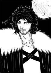Jon Snow by sachos345
