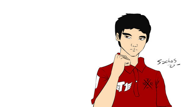Faker Speed Drawing - League of Legends