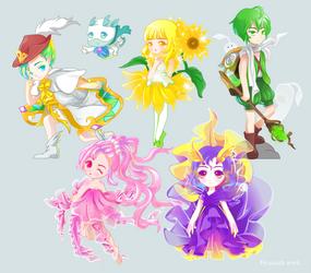 Flash  ------characters