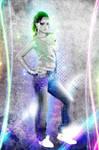 Rihanna - artwork, light effects by C E Y' D O O