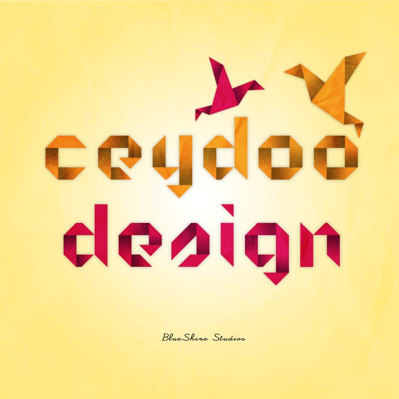 OriGami TypoGraphy Style by CeyDoo-BlueShine