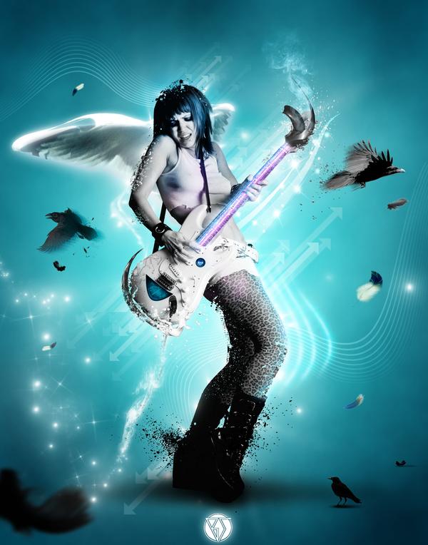 Rhythm Is A Lady by CeyDoo-BlueShine
