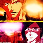 Manga Bleach 681 - Ichigo and ishida by Anis-22