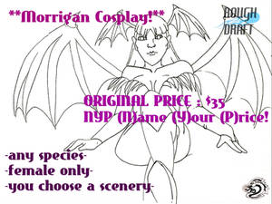 Morrigan Fill-in Cosplay Commission
