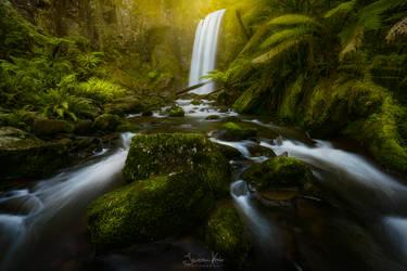 Hopetoun Falls by jkrab
