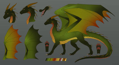 Forest dragon reference