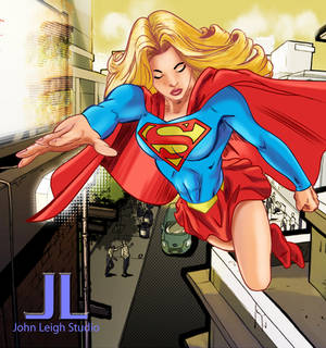 Supergirl working 19