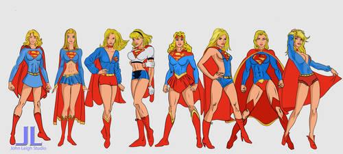 Supergirls Costumes 3-20
