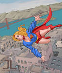 SUPERGIRL scouts about 6-21 by johnleighs01