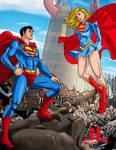 Superboy-Supergirl  8-21 by johnleighs01