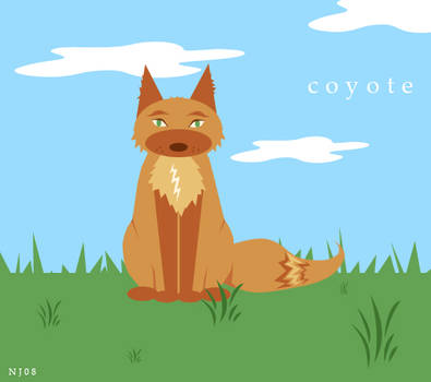 Coyote doing what Coyotes Do.