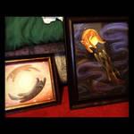 Yote + Wolf Paintings