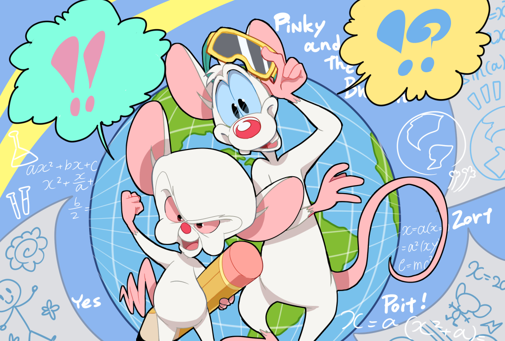 Pinky And The Brain Free Clip Art Cliparts