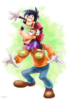 Goofy and Max by Natsu-Nori