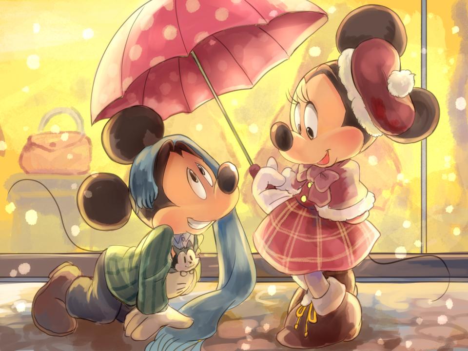 Mickey and Minnie by Natsu-Nori