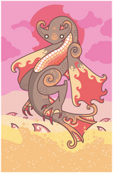 Cephadrome - The Sand Wyvern by Cosmopoliturtle