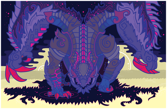 Gore Magala - The Black Eclipse