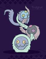 Hiraeth Creature #284 - Trelgrut by Cosmopoliturtle