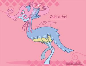 Hiraeth Creature #293 - Ouhila-Vri