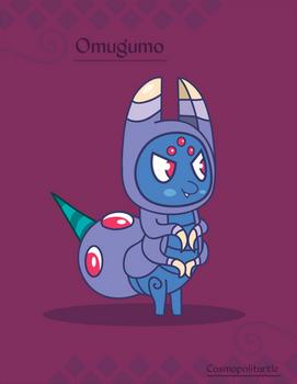 Hiraeth Creature #297 - Omugumo