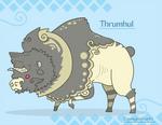 Hiraeth Creature #326 - Thrumhul