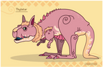 Hiraeth Creature #350 - Thylatar