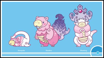 Pokemon #079-080-199