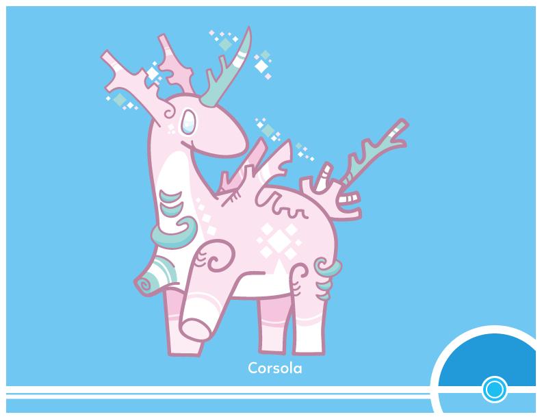 Pokemon #222 by Cosmopoliturtle