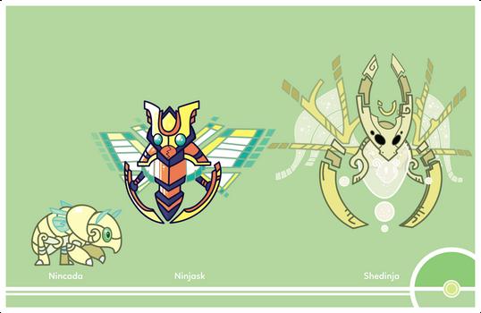 Pokemon #290-291-292