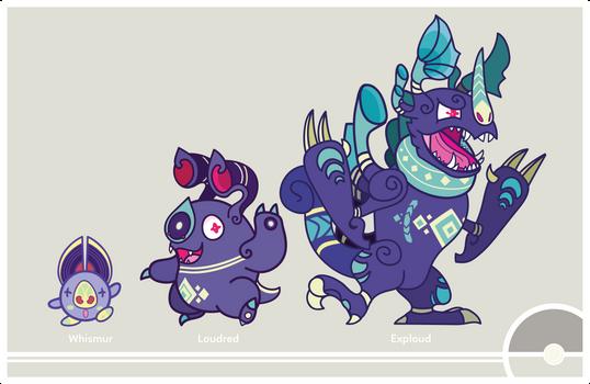 Pokemon #293-294-295