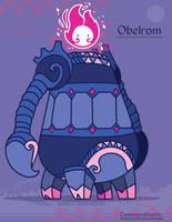 Hiraeth Creature #676 - Obelrom