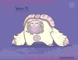 Hireath Creature #745 - Yoto-Ti by Cosmopoliturtle
