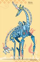 Hiraeth Creature #769 - Kirin by Cosmopoliturtle