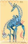 Hiraeth Creature #769 - Kirin