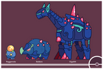 Pokemon #524-525-526