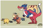 Pokemon #551-552-553