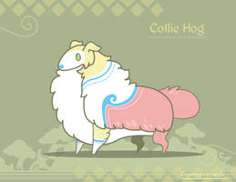 Hiraeth Creature #786 - Collie Hog by Cosmopoliturtle
