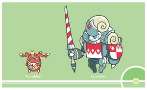 Pokemon #588-589 by Cosmopoliturtle
