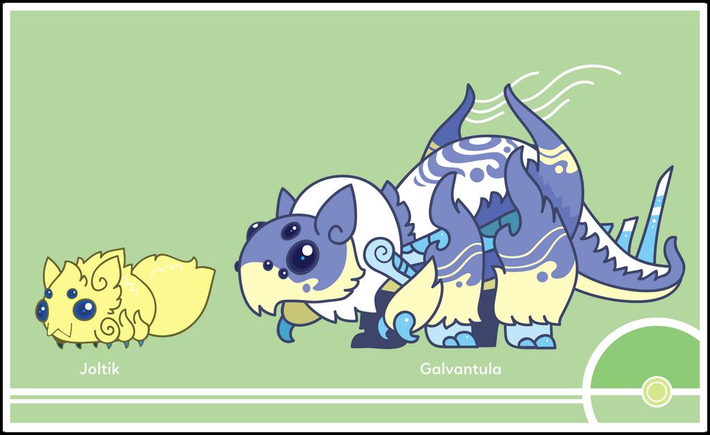 Pokemon #595-596