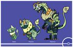 Pokemon #610-611-612