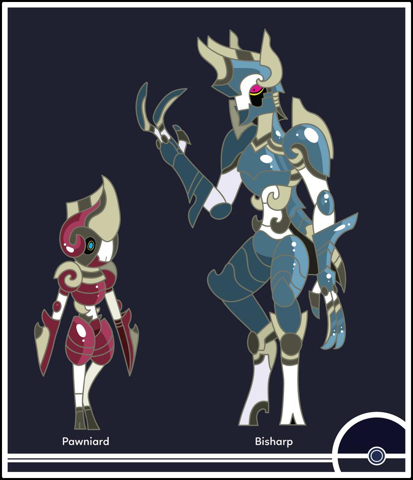 Pokemon #624-625 by Cosmopoliturtle
