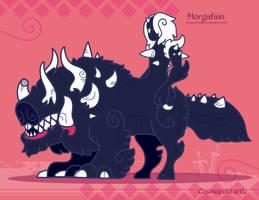 Hiraeth Creature #878 - Morgafain by Cosmopoliturtle