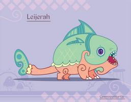 Hiraeth Creature #930 - Leijerah by Cosmopoliturtle