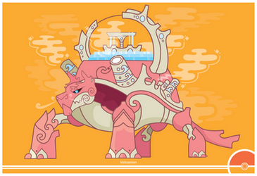 Pokemon #721 by Cosmopoliturtle