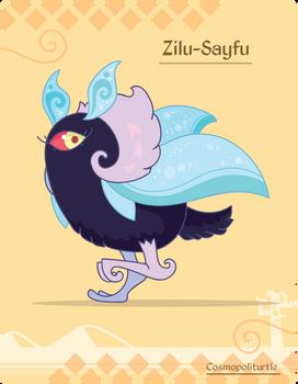 Hiraeth Creature #945 - Zilu-Sayfu