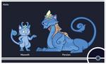 Pokemon #052-053 Alola Form