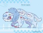 Hiraeth Creature #971 - Arxis-Lapis